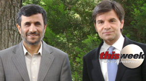 Stephanopoulos Ahmadinejad