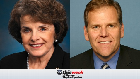 TW Feinstein Rogers 20130607 wblog Coming Up on This Week: Sen. Dianne Feinstein and Rep. Mike Rogers