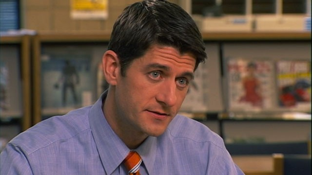 PHOTO:&nbsp;Rep. Paul Ryan, R-Wis., discusses his budget plan with Christiane Amanpour on &quot;This Week.&quot;