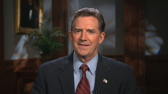 PHOTO: Senator Jim DeMint (R-SC) is interviewed on
