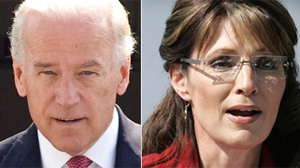 PHOTO: VP Joe Biden Sarah Palin