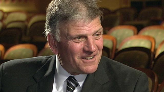 PHOTO:&nbsp;The Rev. Franklin Graham appears on &quot;This Week with Christiane Amanpour.&quot;