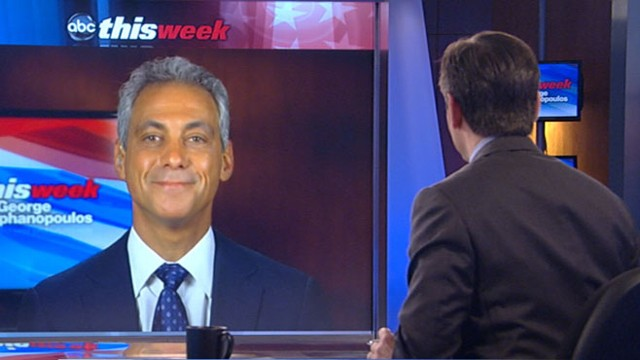 VIDEO: The Chicago mayor on the upcoming third presidential debate.