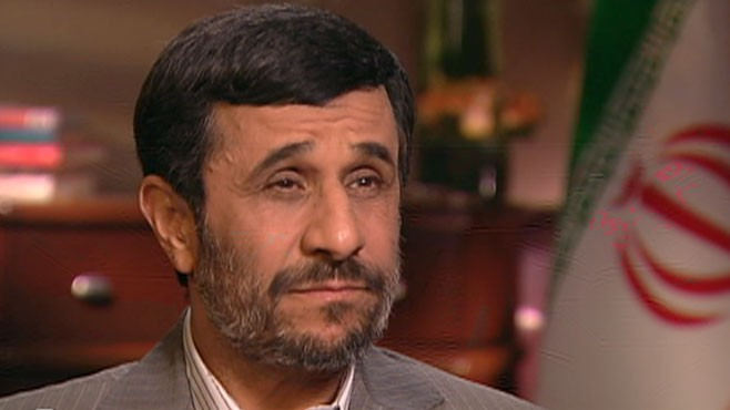"VIDEO: Iranian President Mahmoud Ahmadinejad joins Christiane Amanpour on ""This Week."""