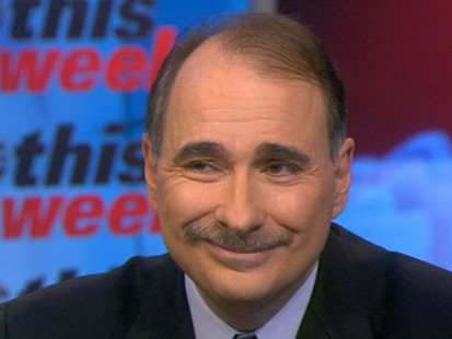 VIDEO: Senior White House Adviser David Axelrod sits down with Christian Amanpour.