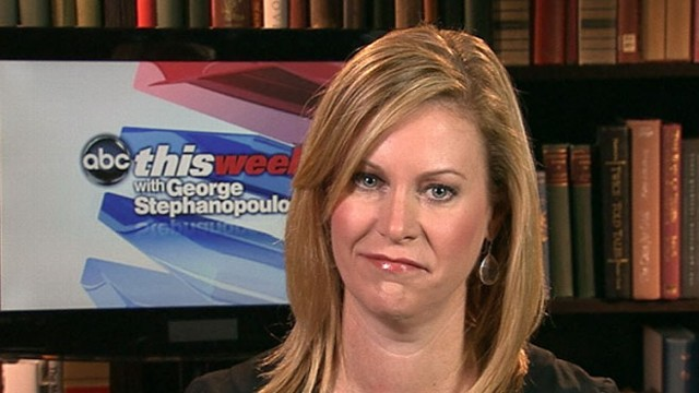 VIDEO:Obama deputy campaign manager Stephanie Cutter goes after Rudy Giuliani.