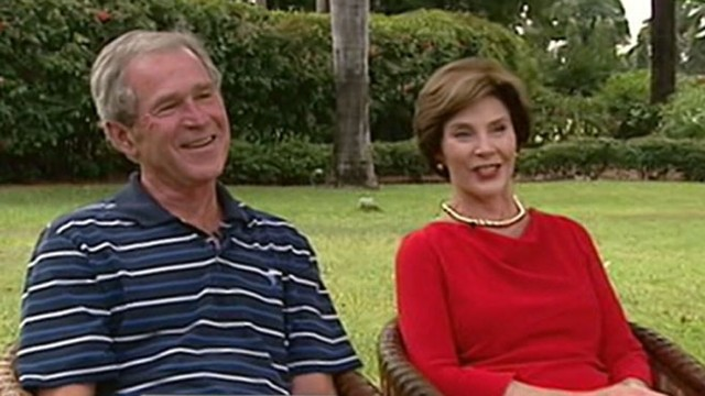 VIDEO: George W. Bush and Laura Bush on This Week