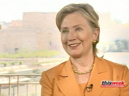 VIDEO: Secretary of State Hillary Clinton sits down with Christiane Amanpour.