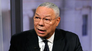 Former Secretary of State Colin Powell on This Week.
