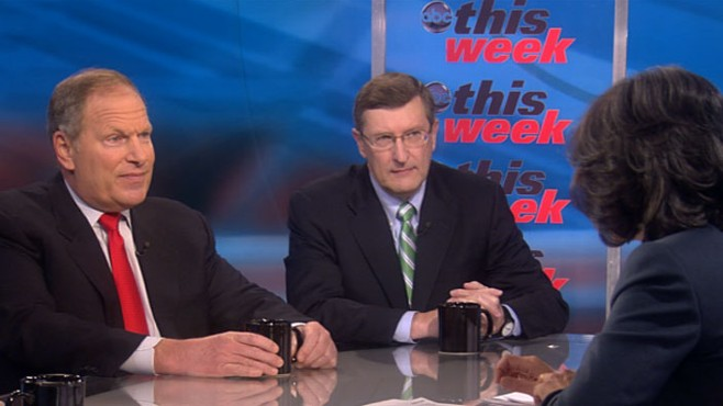"VIDEO: David Cote and Sen. Kent Conrad on ""This Week"""