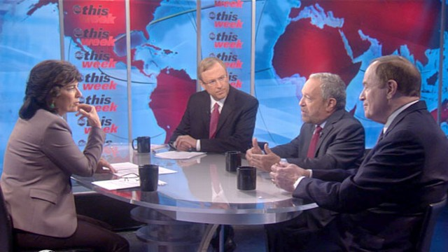 VIDEO: Sen. Richard Shelby, Robert Reich, Jonathan Karl.