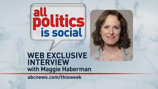 VIDEO: This Week Web Extra: Maggie Haberman