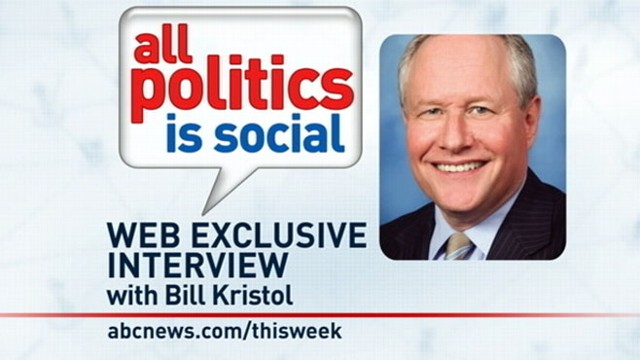 VIDEO: This Week Web Extra: Bill Kristol