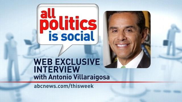 VIDEO: This Week Web Extra: Antonio Villaraigosa