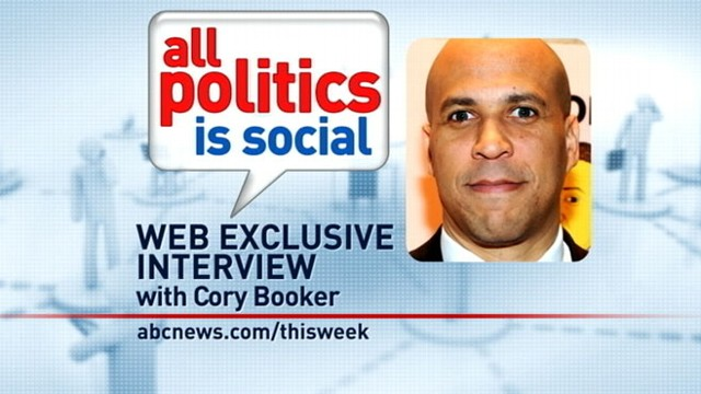 VIDEO: Newark Mayor Cory Booker answers viewer questions.