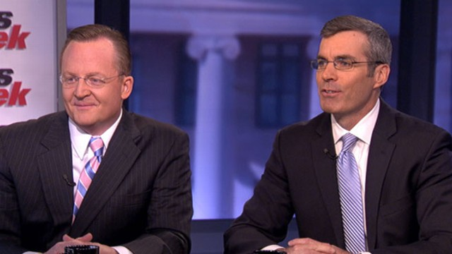 VIDEO: Senior Obama and Romney campaign advisers debate the presidential election.