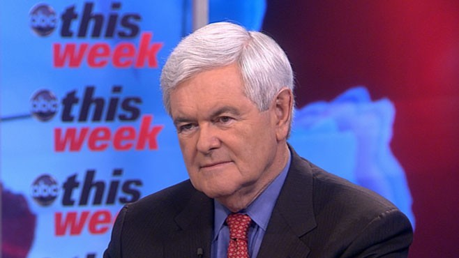 VIDEO: Newt Gingrich on 'This Week'