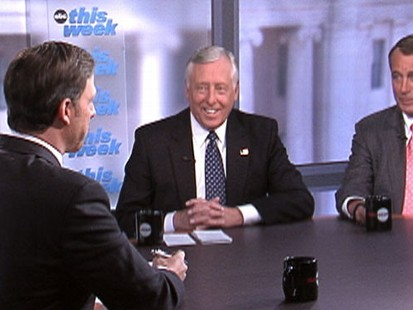 "VIDEO: Steny Hoyer and John Boehner on ""This Week"""
