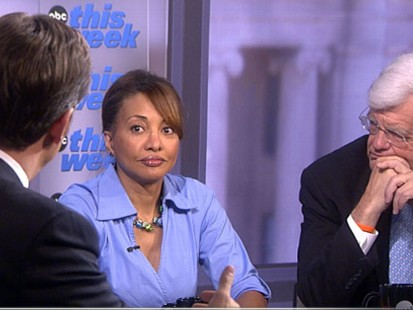 VIDEO: Paul Krugman, Cynthia Tucker, Jorge Ramos, Al Hunt and Dan Senor.