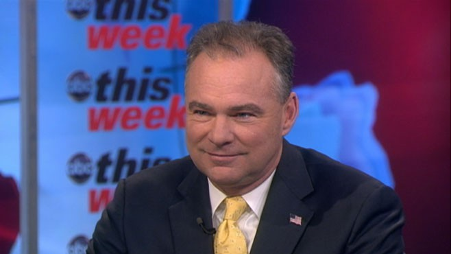 VIDEO: Tim Kaine on 'This Week'