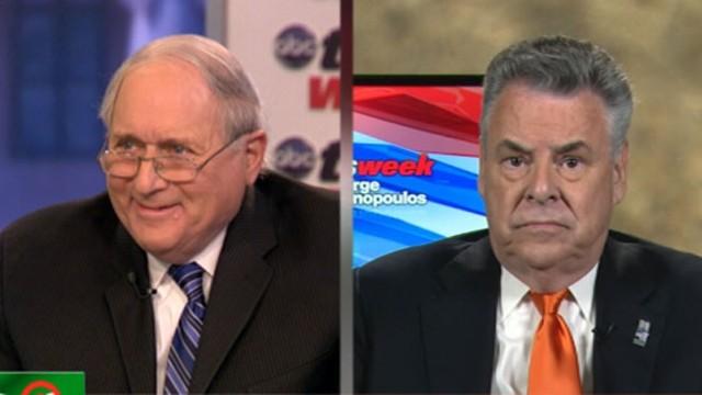 VIDEO: Two key legislators on Mideast violence, the Petraeus affair and the Benghazi investigation.