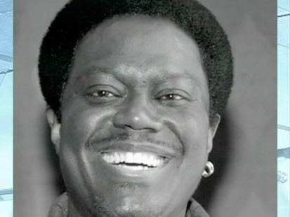 A picture of the late comedian and actor Bernie Mac.