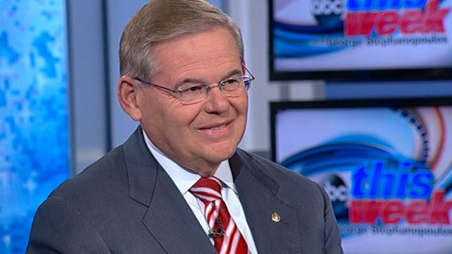 VIDEO: Sen. Bob Menendez on This Week