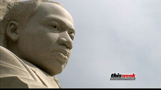 VIDEO: Rep. John Lewis tours the new Martin Luther King, Jr. Memorial.