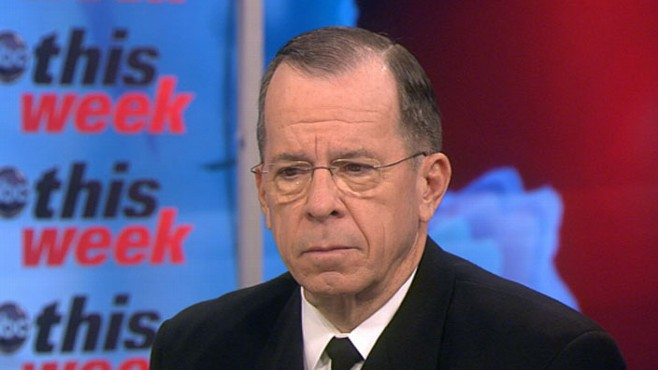 VIDEO: Adm. Mike Mullen on 'This Week'