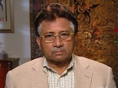 "VIDEO: Former Pakistani prime minister Pervez Musharraf appears on ""This Week."""
