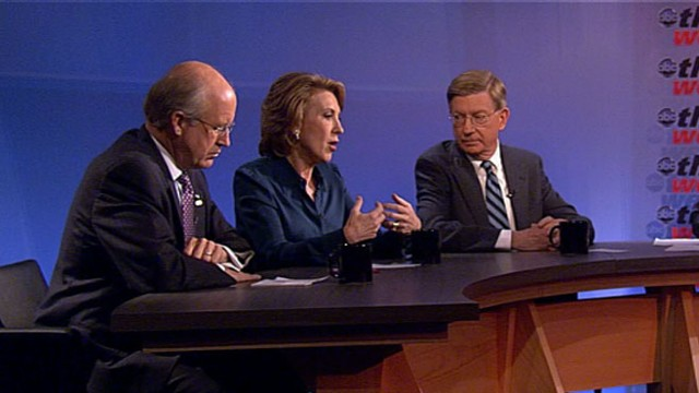 VIDEO: Carly Fiorina, Jennifer Granholm, Paul Krugman, Eric Schmidt, David Walker.