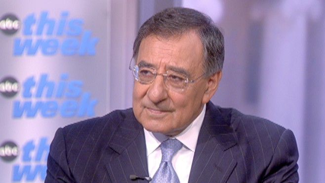 "VIDEO: CIA Director Leon Panetta sits down with ABC's Jake Tapper on ""This Week."""