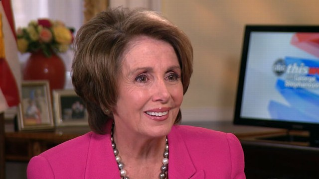 VIDEO: The House Democratic Leader on Congress and 2012 election prospects.