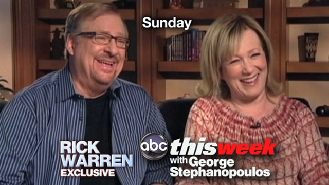 VIDEO: This Easter Sunday, Pastor Rick Warren speaks exclusively to This Week