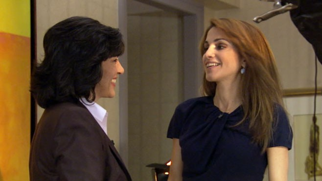 VIDEO: Queen Rania of Jordan joins Christiane Amanpour for an exclusive interview.