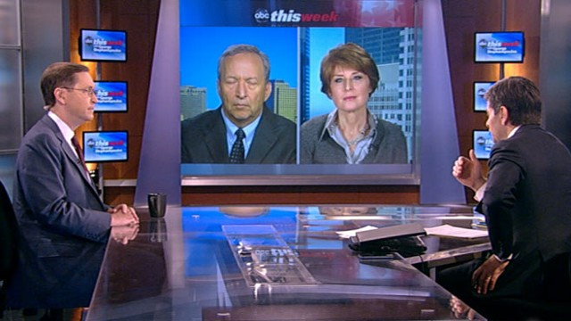 VIDEO: Lawrence Summers, Glenn Hubbard, and Diane Swonk debate the economy.