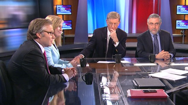 VIDEO: Stephanie Cutter, Eric Fehrnstrom, George Will, and Paul Krugman.