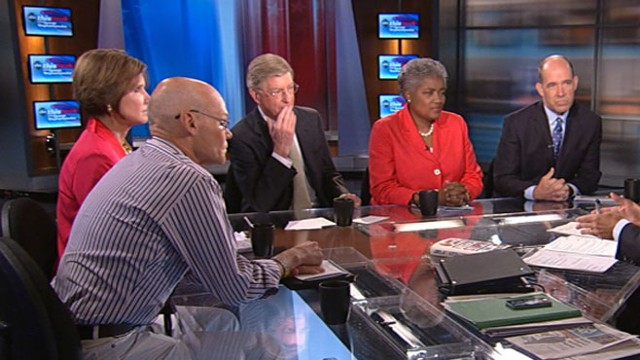 VIDEO: George Will, James Carville, Mary Matalin, Donna Brazile and Matthew Dowd.
