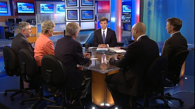 VIDEO: George Will, Rand Paul, Cory Booker, Cokie Roberts and Paul Krugman.