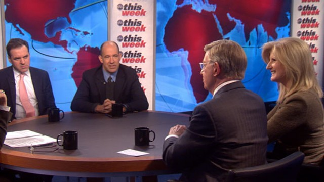 VIDEO: George Will, Arianna Huffington, Matthew Dowd, and Niall Ferguson.