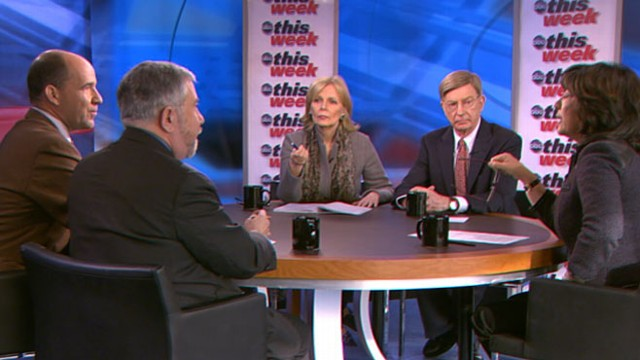 VIDEO: George Will, Peggy Noonan, Matthew Dowd, and Paul Krugman.