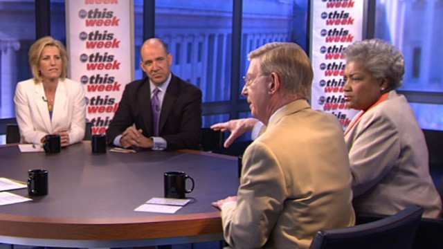 VIDEO: George Will, Donna Brazile, Matthew Dowd, Laura Ingraham, Gavin Newsom.