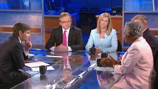 VIDEO: Stephanie Cutter, Eric Fehrnstrom, George Will, and Donna Brazile.