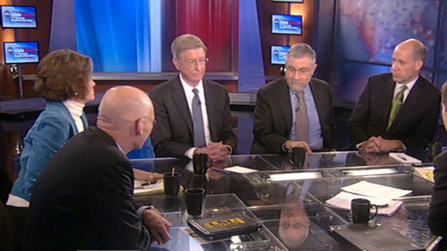 VIDEO: James Carville, Mary Matalin, Paul Krugman, George Will, Matthew Dowd.
