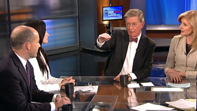 VIDEO: George Will, Matthew Dowd, Arianna Huffington, and Dana Loesch.
