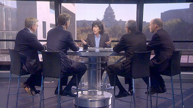 VIDEO: George Will, Sen. Evan Bayh, Matt Dowd, John Podesta and Amy Walter.