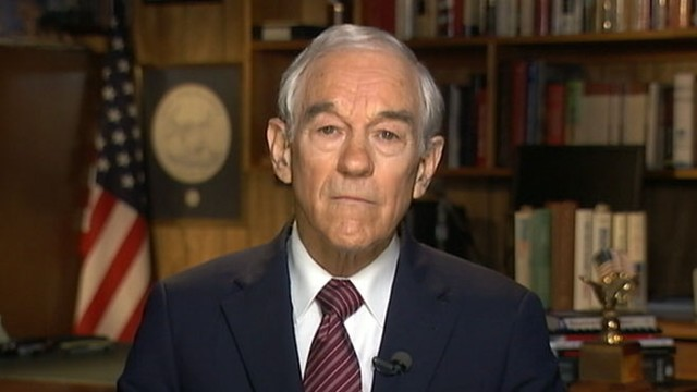 VIDEO: Ron Paul disputes conspiracy theory charge by former aide.