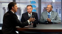 Jake Tapper interviews DNC Chairman Tim Kaine and RNC Chairman Michael Steele on ABC's 'This Week'