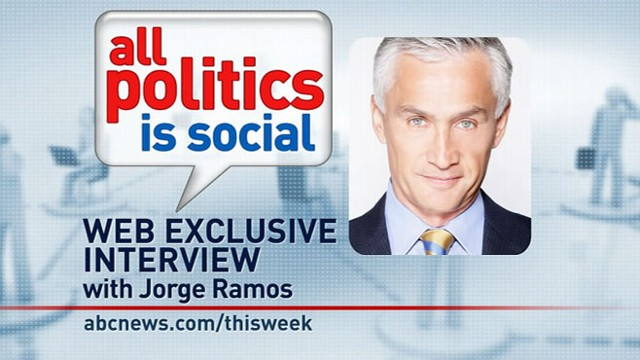VIDEO: Univision anchor Jorge Ramos answers viewer questions from Facebook and Twitter.