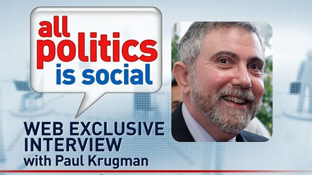 VIDEO: Nobel Prize-winning economist and New York Times columnist Paul Krugman answers viewer questions.